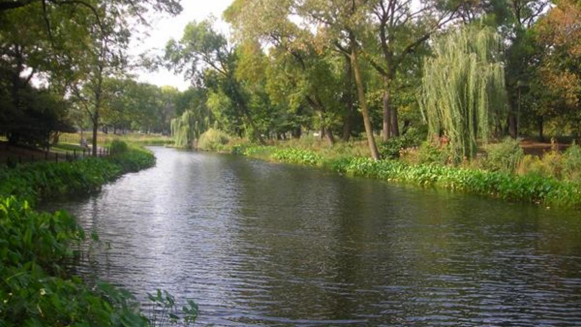 Restored prairie river, 2007
