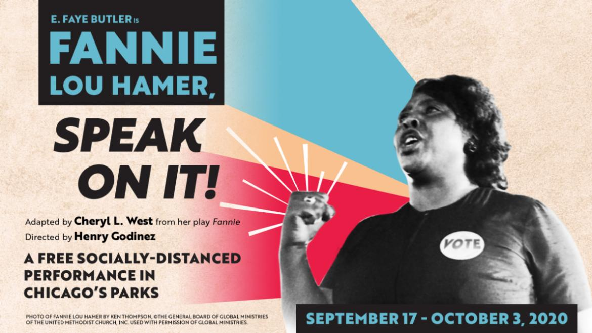 Fannie Lou Hamer: Speak On It! was hosted in Chicago's parks citywide.