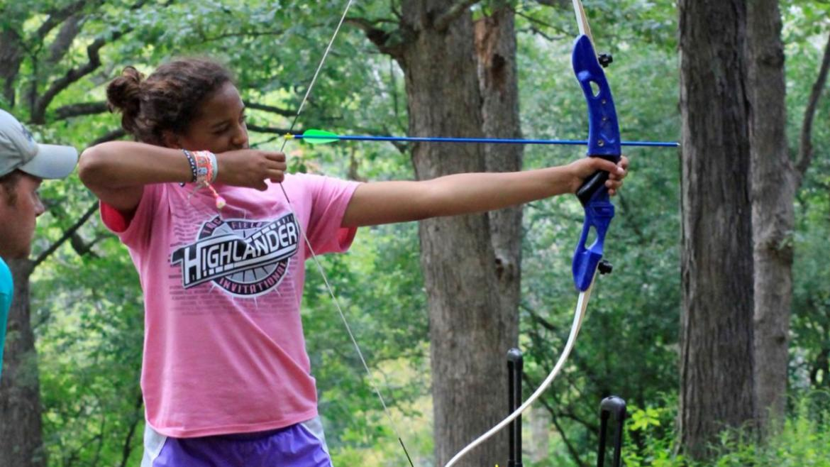 Archery in the parks.
