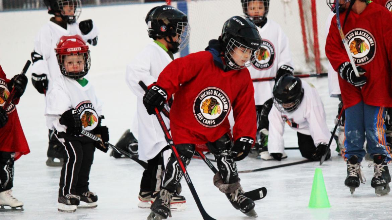 Chicago Blackhawks Hockey Clinics