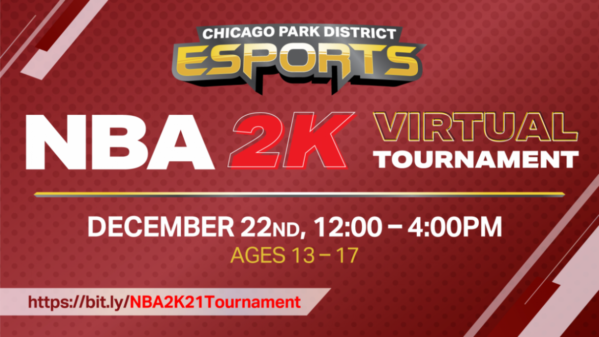 This is the Chicago Park District's first-ever virtual gaming tournament.