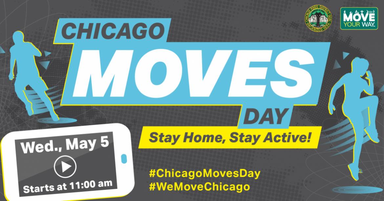 Chicago Moves Day kicks off May 5 at 11 am.
