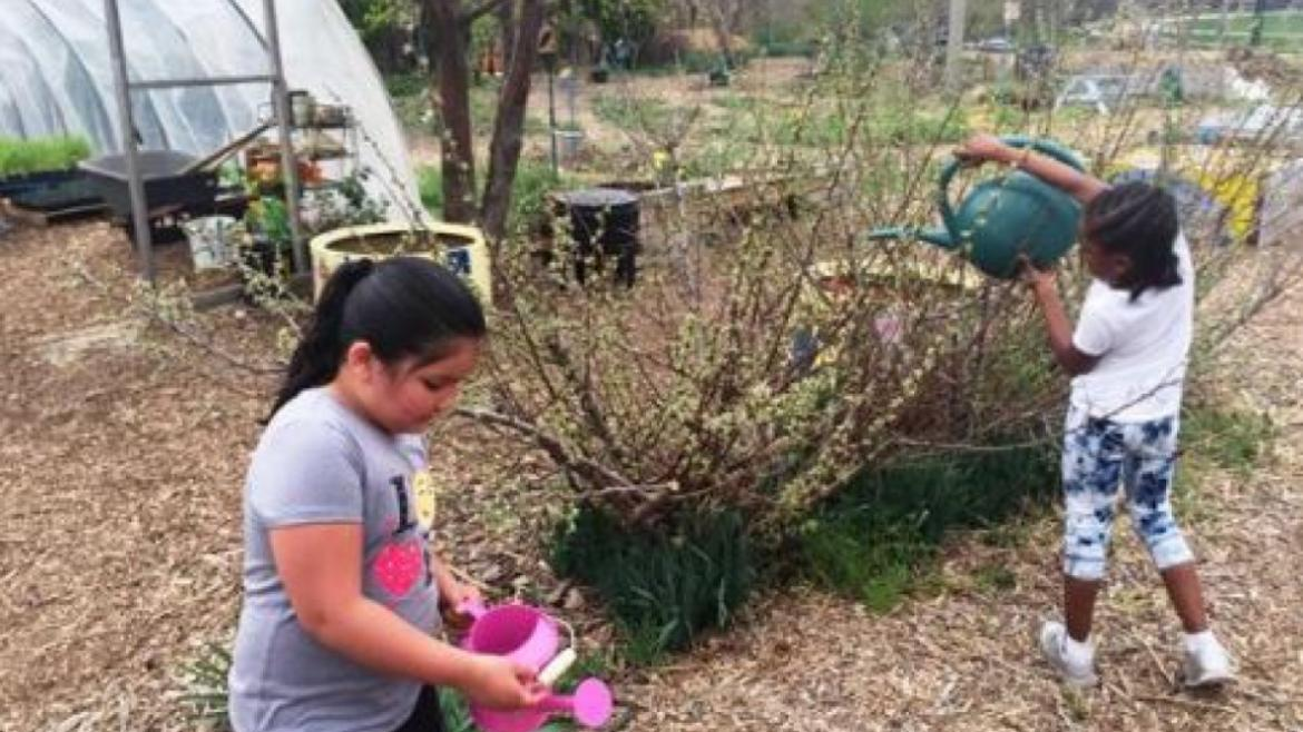 New Grant Funds the Creation of the Kilbourn Park Explorers Garden.