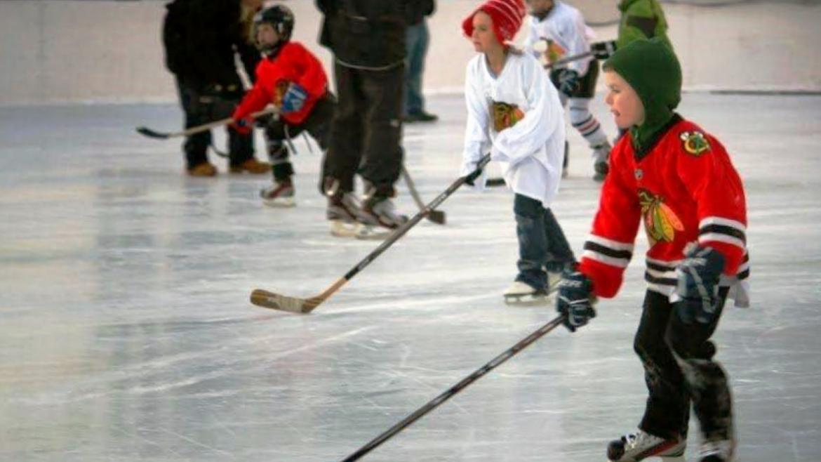 The Chicago Blackhawks ice hockey clinics are free on select Wednesdays and Saturdays through February.