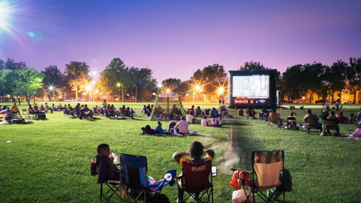 Chicago Park District Hosts First-Ever, Three-Day Multi-Screen Outdoor Festival Celebration of Local Film | Chicago Park District