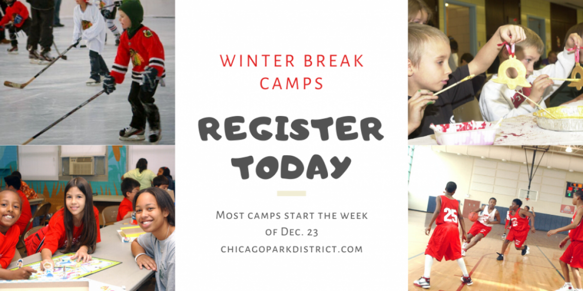 Winter Break Camps Start the Week of December 23. Register today!