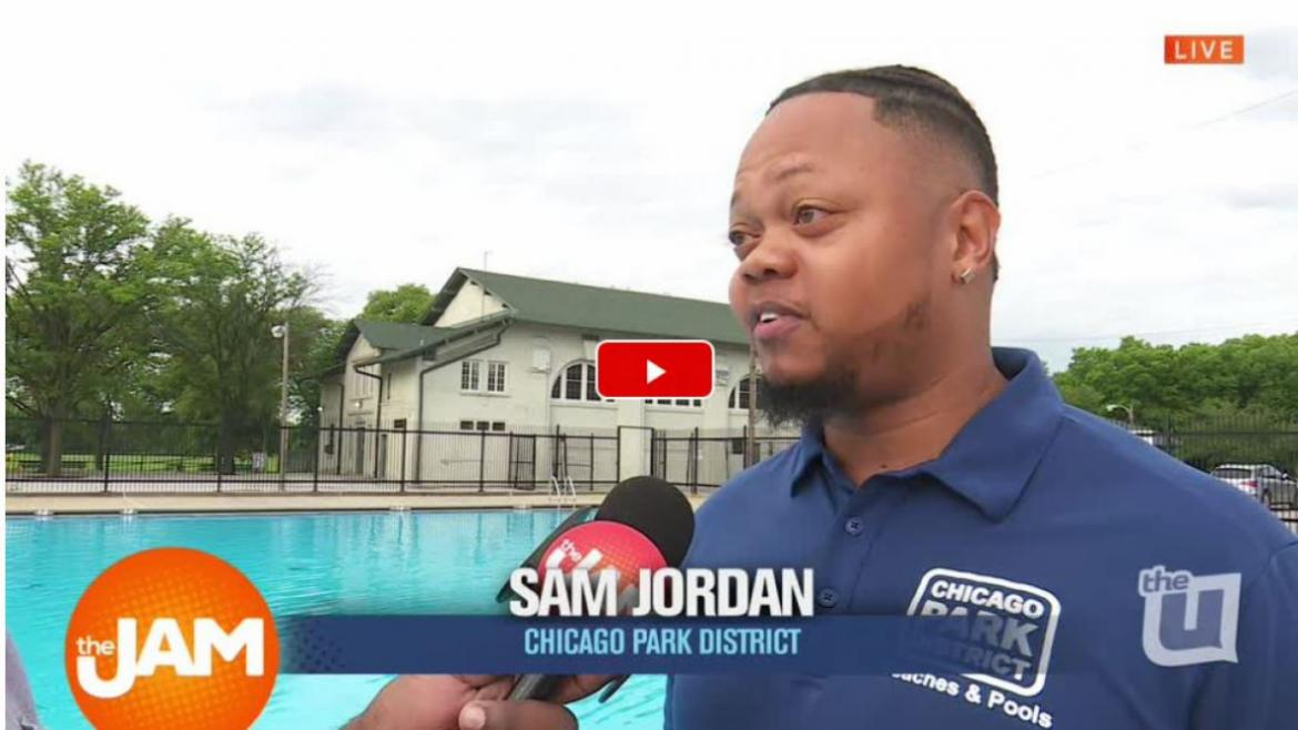 The Chicago Park District's outdoor pools open June 15.