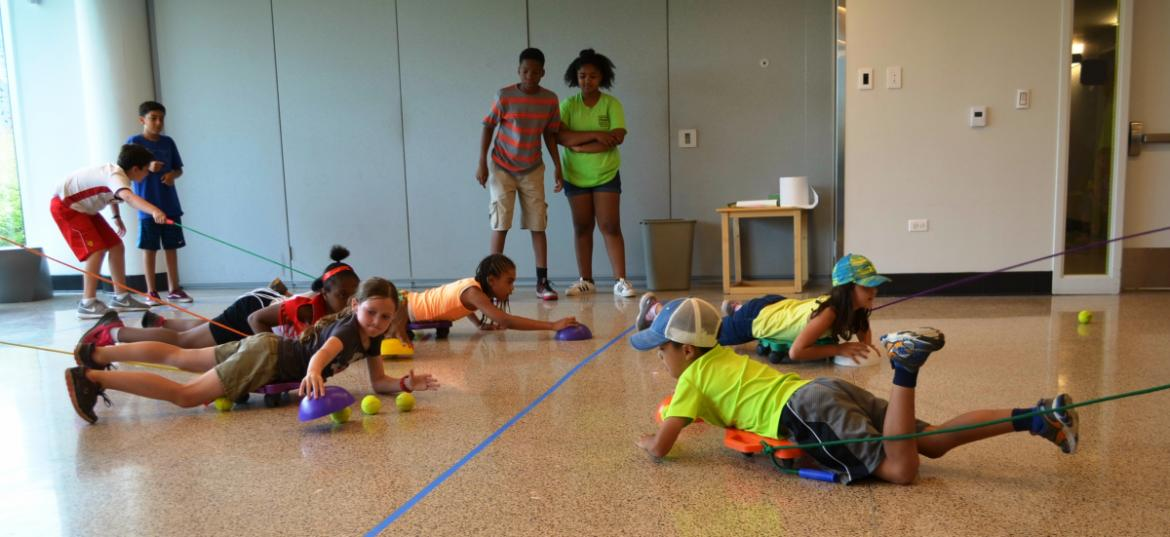 Summer day camp offers a variety of activities for kids of all ages.