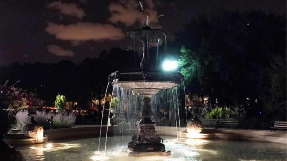 The Gurgoyle Fountain in Wicker Park will receive a major facelift.