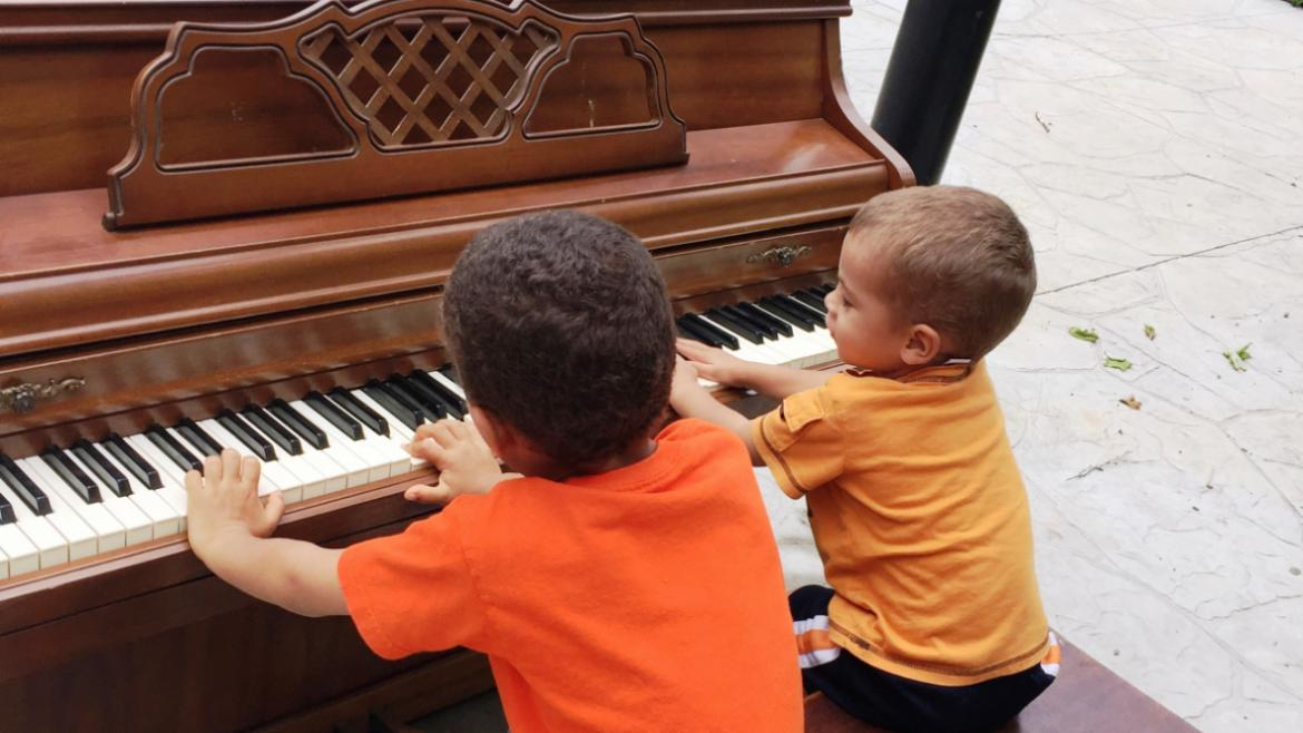 Find pianos in six park locations.