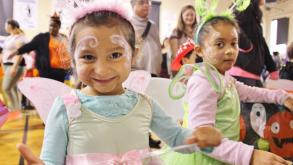 Cute fairies at Commercial Club's Halloween Party!