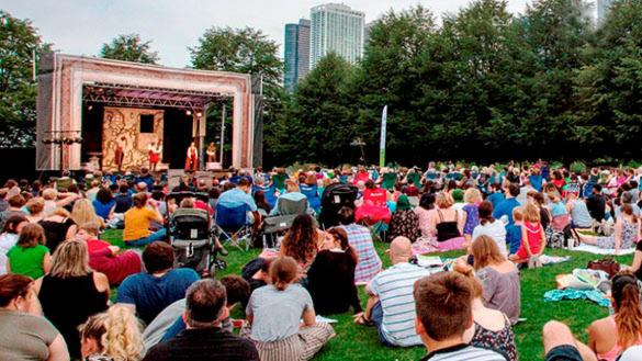 Chicago Shakespeare in the Parks at Dvorak