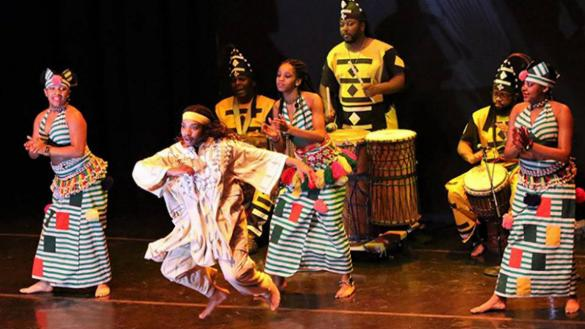 Dances from West Africa at Wentworth Gardens
