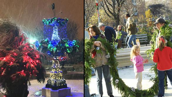 Fountain Decorating Social at Wicker