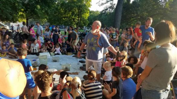 Toddlers, Tunes, & Turtles at Chicago Women's