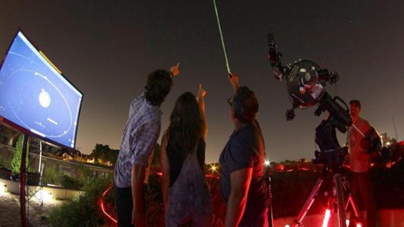 Urban Astronomy in the Parks at West Lawn