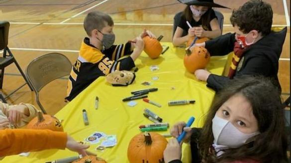 Halloween Arts & Crafts at Maplewood