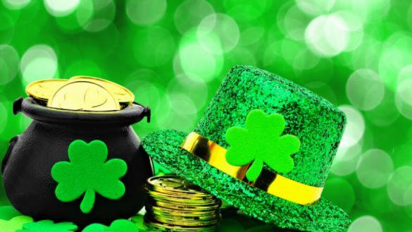 St. Patrick's Day craft online with Brands Park Staff