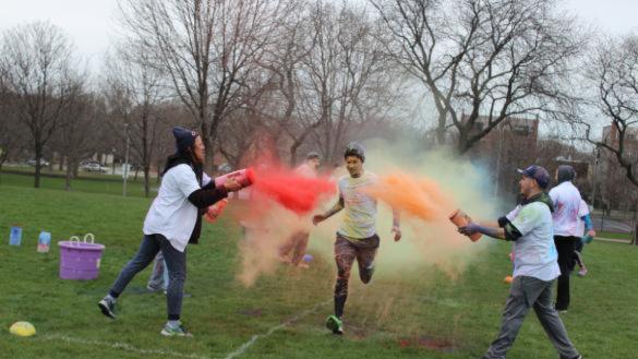 Teen Color Run at Horner