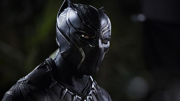 King T'Challa of Wakanda in his suit as the Black Panther