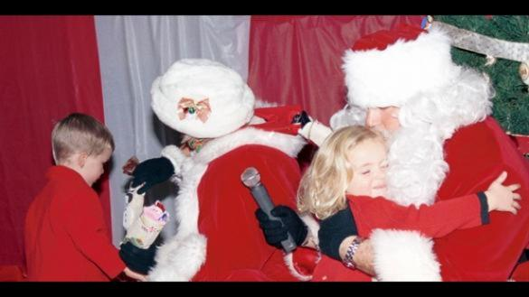 A visit with Santa & Mrs. Claus.