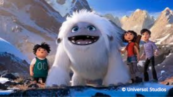 Join us for an indoor movie - Abominable at Welles Park
