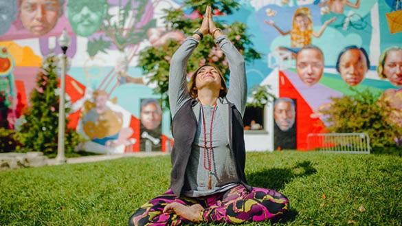 Meditation in the Park at Wicker