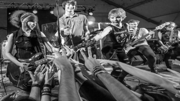 School of Rock Concert at Chippewa