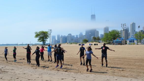 Boot Camp At Osterman Beach