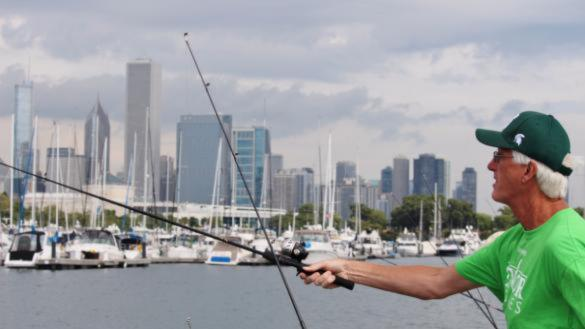 3f0297a727402 Veteran Fishing Derby at Northerly Island