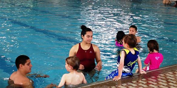 Join us for the World's Largest Swim Lesson on June 21 - 6pm at a pool near you.