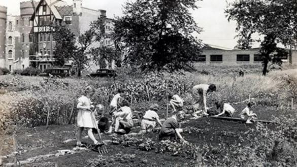 Indian Boundary Park Garden Club, 1937