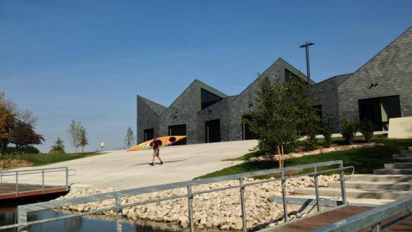 WMS Boathouse at Clark Park