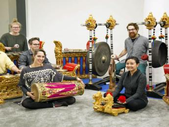 Blossoming Bronze: Music of Bali at Garfield Conservatory