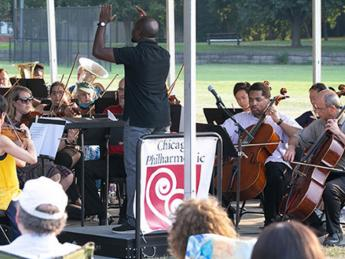 Chicago Philharmonic Side by Side at South Shore