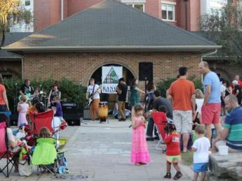 Join us for a concert in the park!