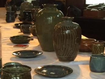 Pottery Show at Berger Park