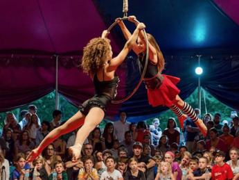 Midnight Circus in the Parks at Lake Shore