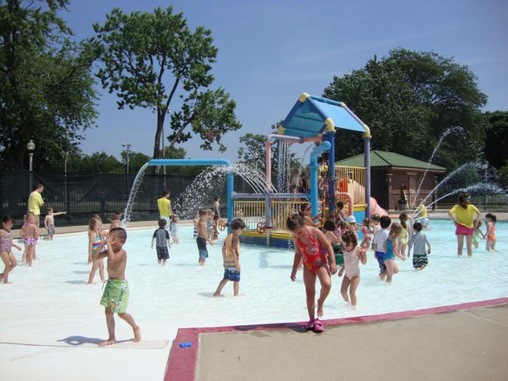 Water Playground at Portage Park