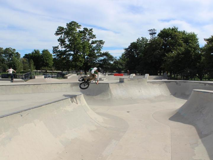 Skate Park at Wilson and LSD on the lakefront