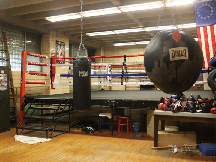 Boxing Gym at Loyola Park