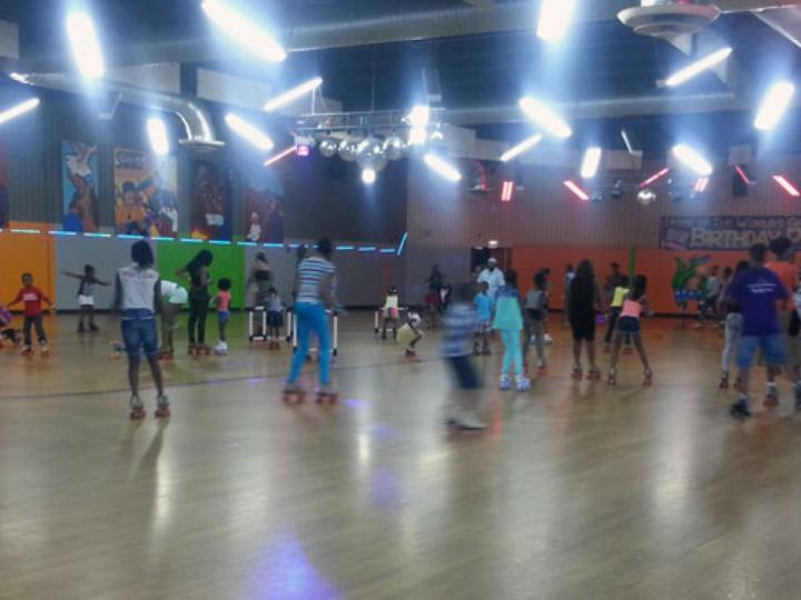 Roller Skating at MLK Entertainment Center