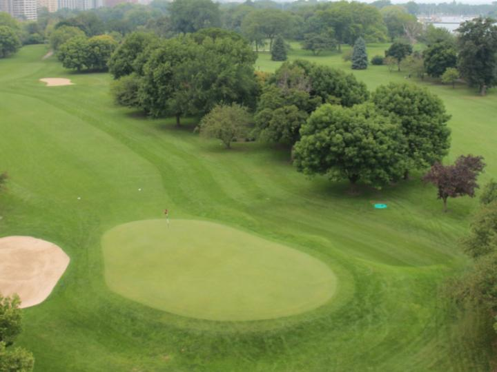 View of Sidney Marovitz Golf Course