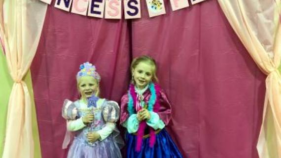 We had a magical time at our Princess Party!