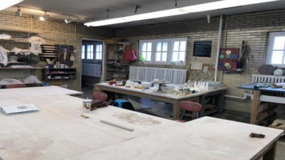Visit our Ceramics Studio!