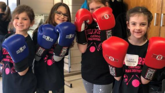 Girls Day of Play - Boxing