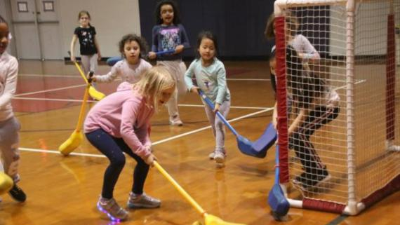 Girls in Sports Day - Floor Hockey