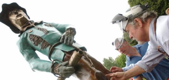 Oz Park - Scarecrow Sculpture