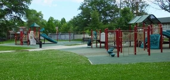 The stunning Sherman Park playground