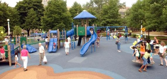 Berger Park Cultural Center Playground